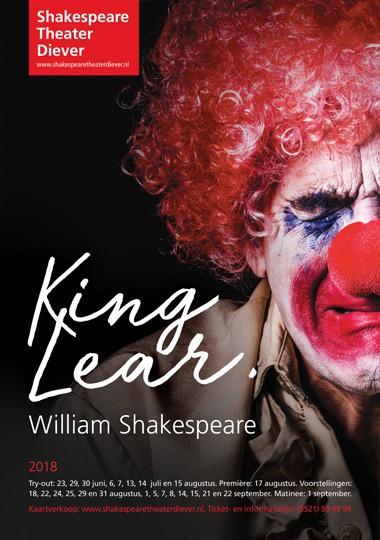 Poster van King Lear